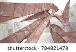 empty abstract room interior of ...   Shutterstock . vector #784821478