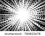 speed line fast motion...   Shutterstock .eps vector #784822678