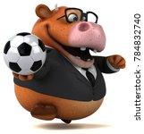 fun cow   3d illustration | Shutterstock . vector #784832740