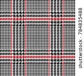 check fashion seamless pattern | Shutterstock .eps vector #784835488