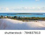the coastal town of lancelin... | Shutterstock . vector #784837813