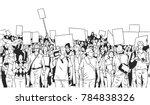 black and white illustration of ... | Shutterstock .eps vector #784838326