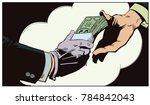 stock illustration. money... | Shutterstock .eps vector #784842043