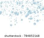 snowflake macro vector...   Shutterstock .eps vector #784852168