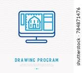drawing program opened on...