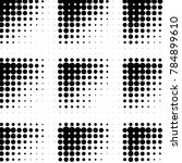 spotted black and white grunge... | Shutterstock . vector #784899610