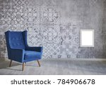 modern grey wall and background ... | Shutterstock . vector #784906678