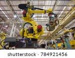 new robot setting for... | Shutterstock . vector #784921456