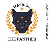 the panther warrior illustration | Shutterstock .eps vector #784930840
