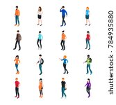 modern society template with... | Shutterstock . vector #784935880