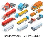 vehicle isometric collection of ... | Shutterstock . vector #784936330