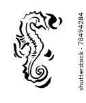 seahorse | Shutterstock .eps vector #78494284