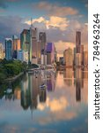 brisbane. cityscape image of... | Shutterstock . vector #784963264