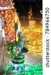 illumination background with...   Shutterstock . vector #784966750