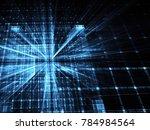 fractal art   computer image ...   Shutterstock . vector #784984564