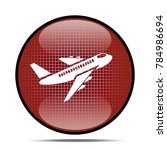 airport icon .internet button... | Shutterstock . vector #784986694