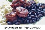 feijoada   typical brazilian... | Shutterstock . vector #784989400