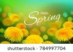 stock vector illustration hello ... | Shutterstock .eps vector #784997704