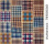 seamless background. geometric... | Shutterstock .eps vector #785030260