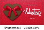 valentines day. valentines... | Shutterstock .eps vector #785066398