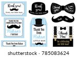 little man birthday party  ... | Shutterstock .eps vector #785083624