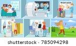 cancer disease horizontal...   Shutterstock .eps vector #785094298