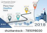 business infographics template  ... | Shutterstock .eps vector #785098030