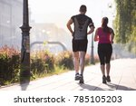 urban sports  healthy young... | Shutterstock . vector #785105203