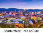 asheville  north carolina  usa... | Shutterstock . vector #785123230