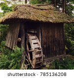 Abandoned Water Wheel Found In...