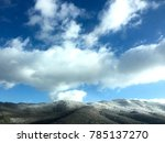 mountains in the winter | Shutterstock . vector #785137270