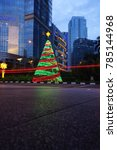 jakarta  indonesia   december...   Shutterstock . vector #785144968
