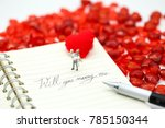 miniature people  couple and... | Shutterstock . vector #785150344