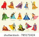 vector illustrations in flat... | Shutterstock .eps vector #785172424