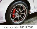car max wheel.magnesium alloy... | Shutterstock . vector #785172508