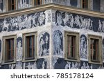 a detailed view of the... | Shutterstock . vector #785178124