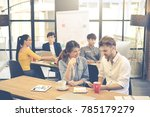 group of professional business... | Shutterstock . vector #785179279