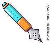 pen icon. cartoon illustration... | Shutterstock .eps vector #785194930
