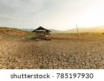 climate change impact no water... | Shutterstock . vector #785197930