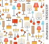 lighting accessories seamless...   Shutterstock . vector #785201539