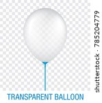transparent white vector... | Shutterstock .eps vector #785204779