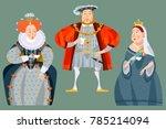 history of england. british... | Shutterstock .eps vector #785214094