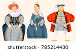 history of england. queen... | Shutterstock .eps vector #785214430