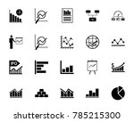 diagram icon set | Shutterstock .eps vector #785215300