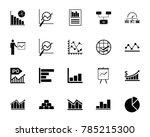 diagram icon set | Shutterstock .eps vector #785215300