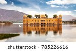 jal mahal water palace in the... | Shutterstock . vector #785226616