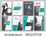 abstract binder layout. white... | Shutterstock .eps vector #785229724