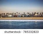 venice beach idylle | Shutterstock . vector #785232823
