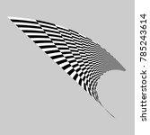 black and white checker element | Shutterstock .eps vector #785243614