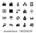 money icon set   Shutterstock .eps vector #785250259